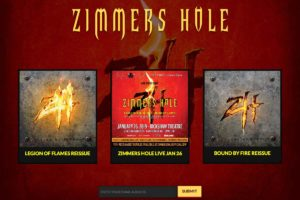 Zimmers Hole: Landing Page