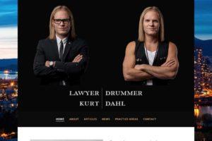 LawyerDrummer: Website by MykillinK Studios